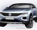 Volkswagen T-Roc: первое изображение