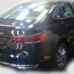 Появились фото нового седана Volkswagen Polo