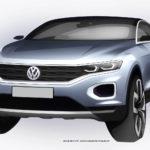 Volkswagen показал дизайн субкомпактного кроссовера T-Roc