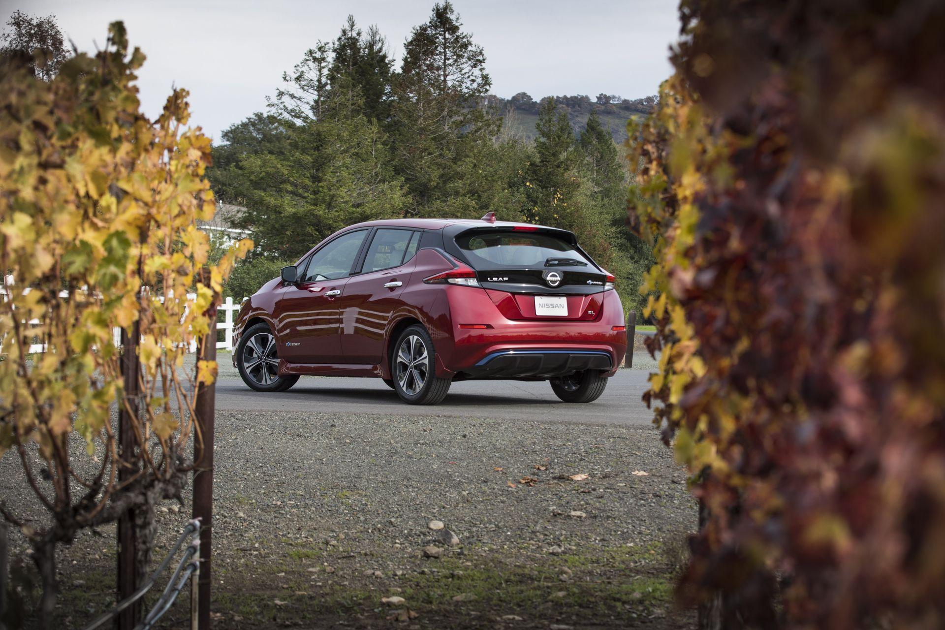 Объявлены британские цены Nissan Leaf нового поколения